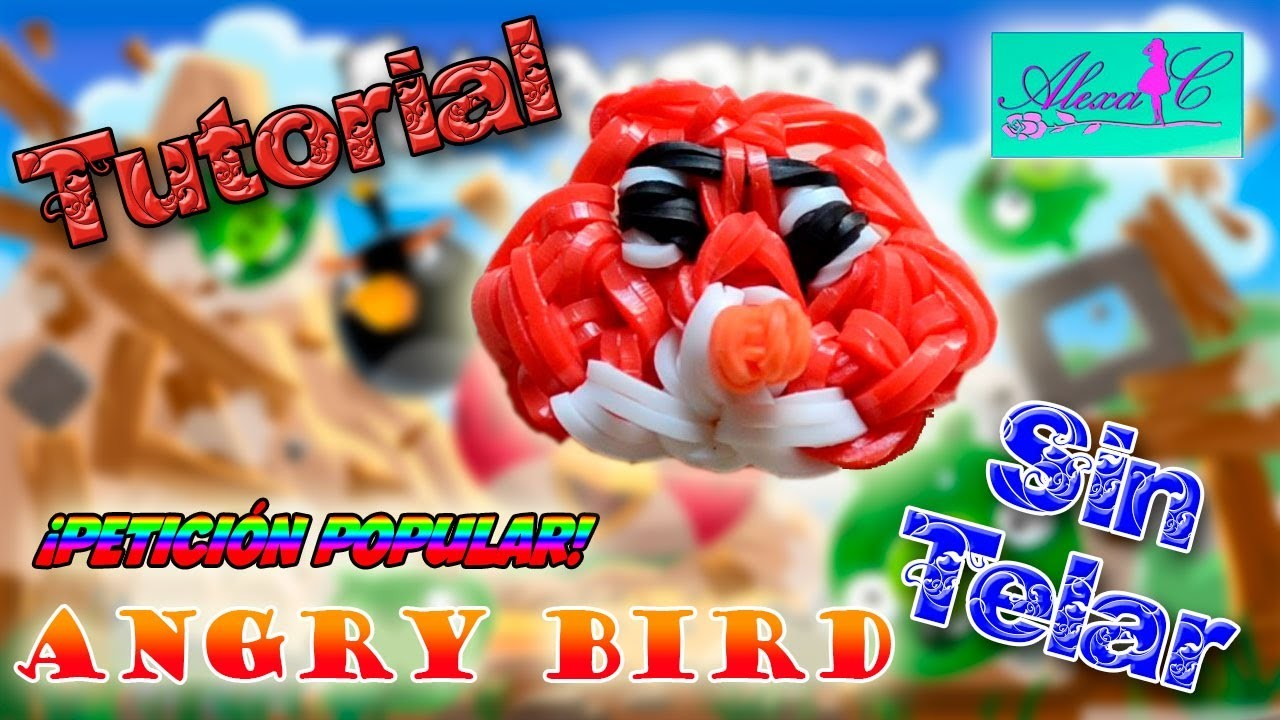 ♥ Tutorial: Angry Bird de gomitas (sin telar) ♥