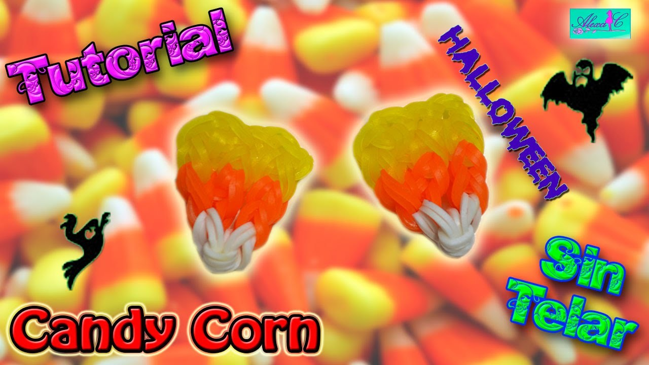 ♥ Tutorial: Candy Corn de gomitas (sin telar) ♥