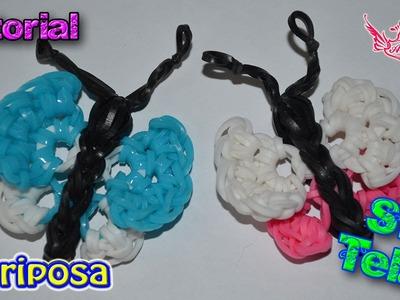 b98d2ee3b480 Tutorial  Mariposa (sin telar) ♥