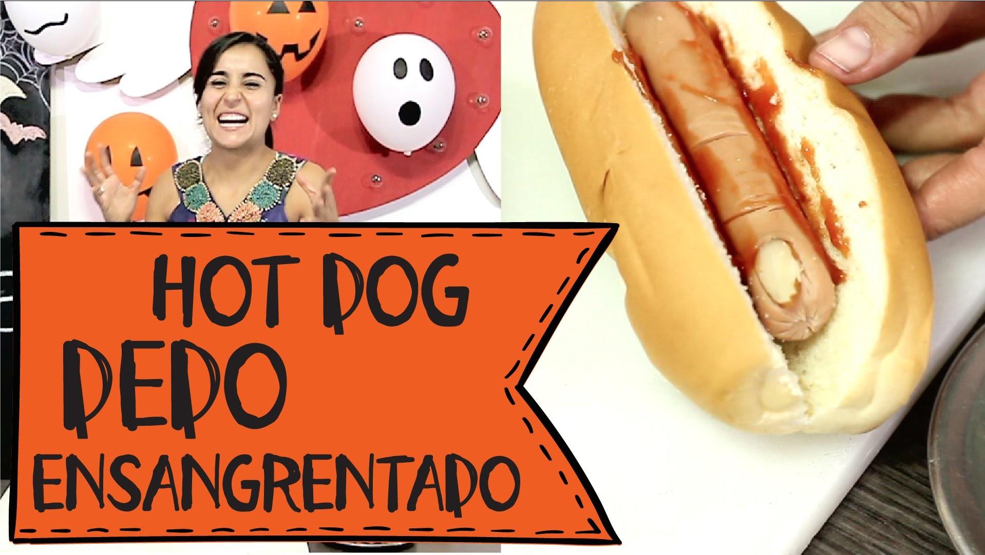#5 DIY - ¿Terroríficos Dedos humanos en tu Hot Dog?  (Especial Decoración de Halloween)