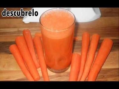 Bebió jugo de zanahoria todos los días durante 8 meses No podrás creer lo que pasó