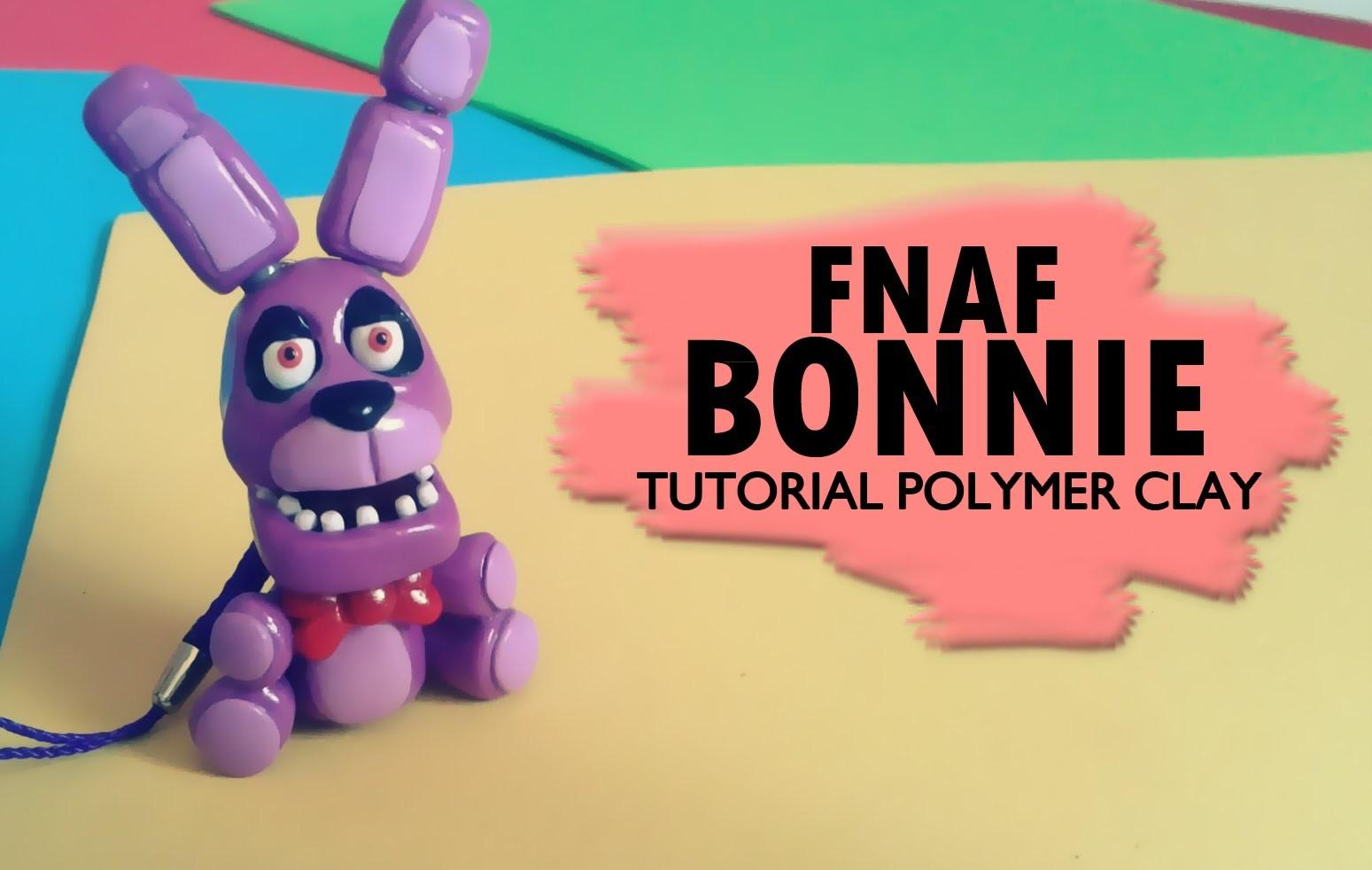 Bonnie FNAF Polymer Clay Tutorial. Boonie FNAF
