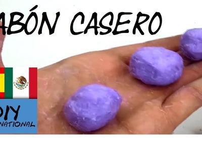 CÓMO HACER JABÓN CASERO FÁCIL- TUTORIAL DIY