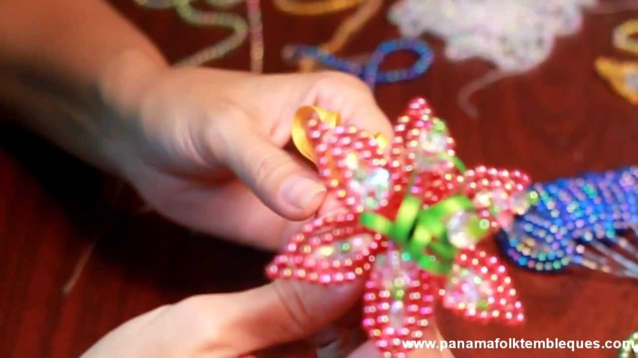 Como hacer Tembleques - Tapa Oreja de Colores - Parte 2
