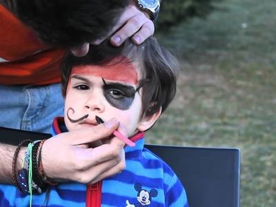 Como hacer un maquillaje de pirata