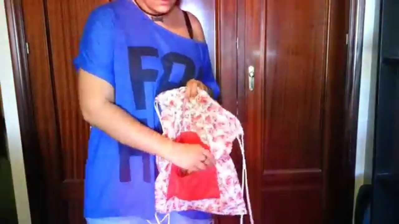DIY: bolsa con bolsillo externo