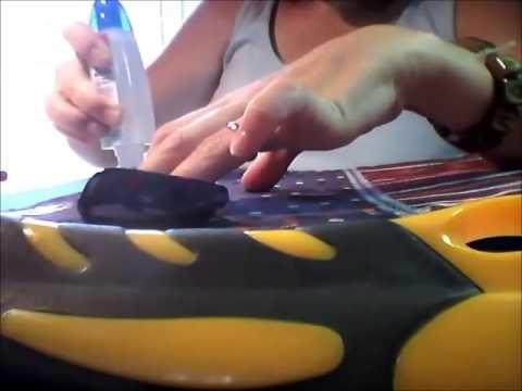 Este no es de ganchillo: estuche porta ganchillos con un brick de leche