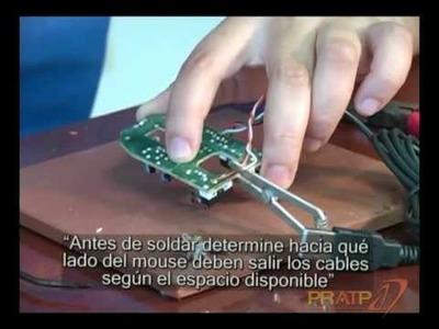 Instrucciones para adaptar un mouse con interfaz de switch