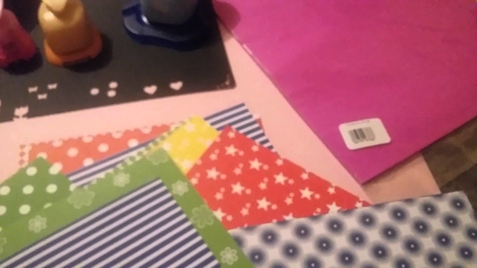 Primeras compras de Scrapbook en Chile