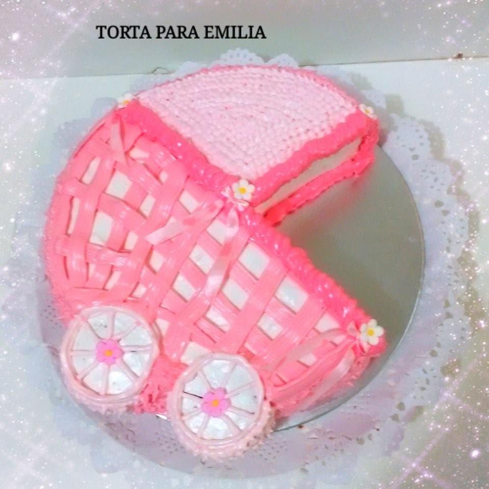 TORTA COCHE BEBE BABY SHOWER FACIL - Silvana Cocina y Manualidades