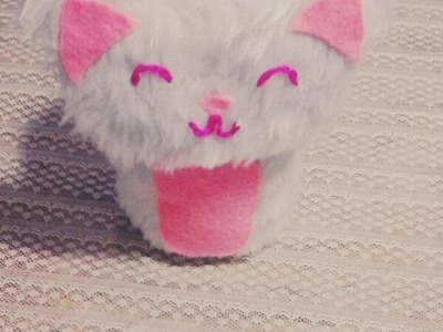 Tutorial: alcancía de gatito. DIY by Artistic Little World ♥ᴥ♥