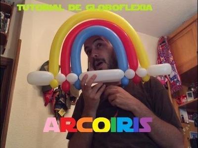 Tutorial de globoflexia: Arcoiris (Balloon Rainbow)