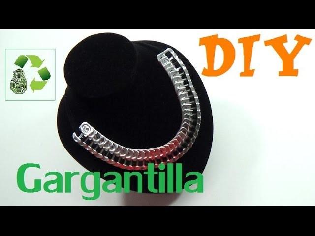 147. DIY GARGANTILLA O COLLAR (RECICLAJE DE ANILLAS)
