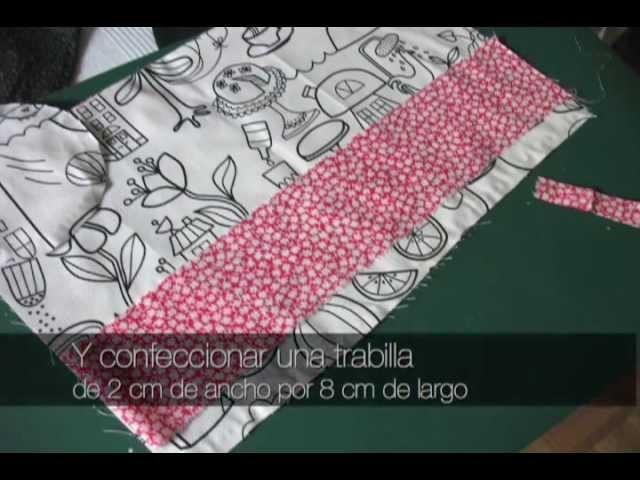 BOLSO CON TELA DE IKEA, TUTORIAL Y PDF DE PATRON