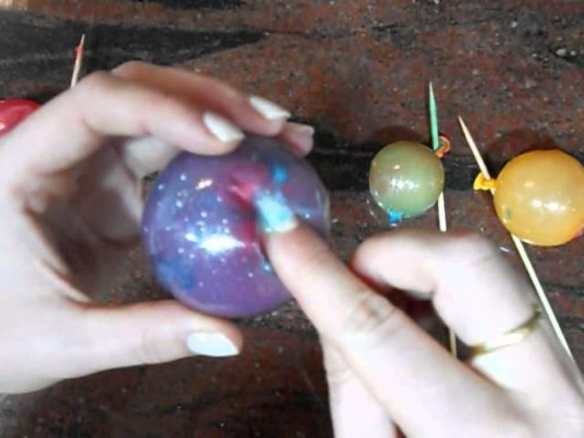 Burbujas de gelatina para decorar tus tartas