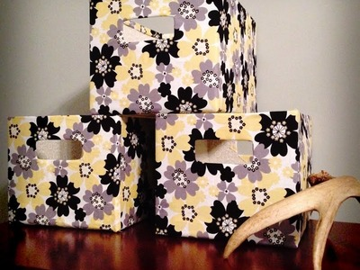 Cajas para organizar\upcycled box