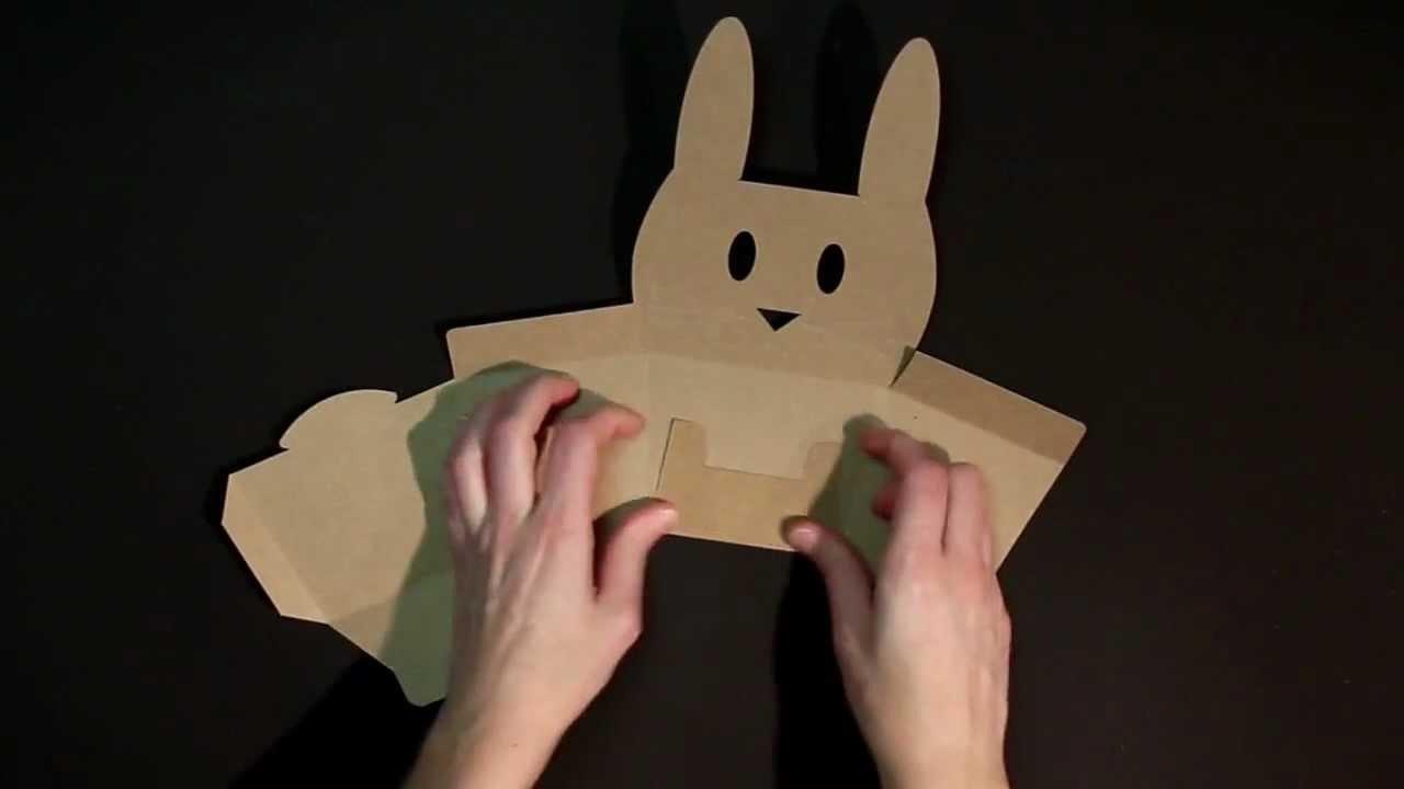 Cajitas con formas de animales - Vídeo de montaje ref. 2217 SelfPackaging