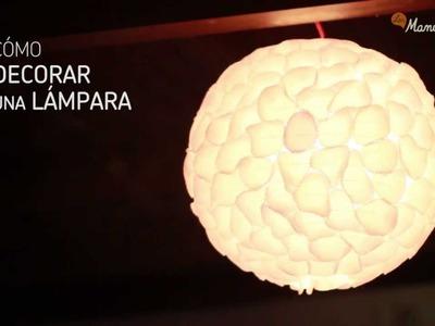 Cómo decorar una lámpara