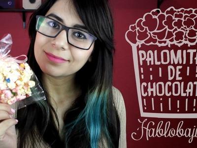 Cómo hacer Palomitas con Chocolate. Ideas para San valentín - Hablobajito