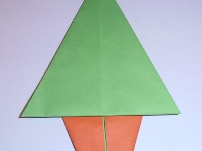 Cómo hacer un árbol de Navidad de papel fácil
