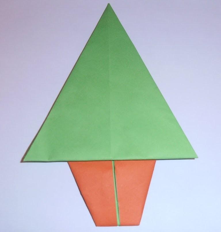 C mo hacer un rbol de navidad de papel f cil - Como hacer un arbol de navidad de papel ...