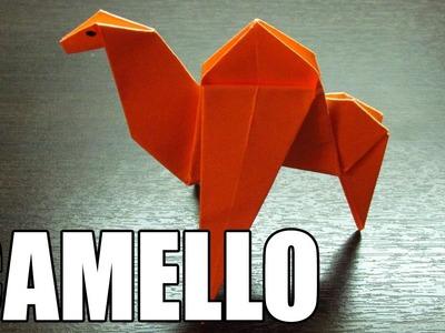 Como hacer un CAMELLO DE PAPEL | Origami de Animales paso a paso (Muy Fácil)