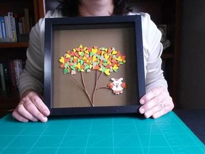 Cómo hacer un cuadro con diseño infantil  | facilisimo.com