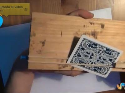 Cómo hacer un lanza cartas