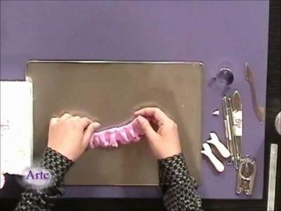 Cómo hacer una muñeca  alhajero en porcelana fría