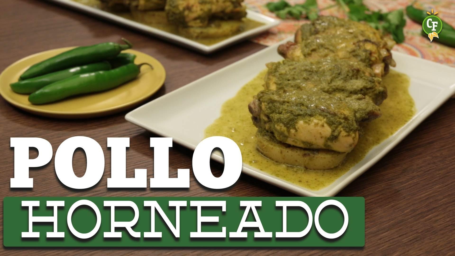 ¿Cómo preparar Pollo Horneado con Salsa de Limón y Cilantro ? - Cocina Fresca