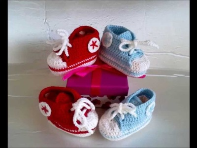 Copia de ZAPATITOS PARA BEBE PAULA #1