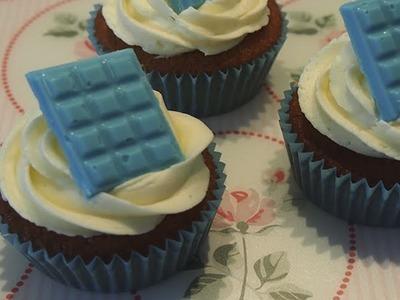 Cupcakes de Chocolate Blanco | Receta Facil