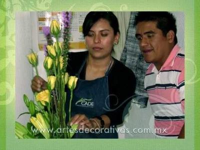 Curso de diseño floral - CADE - Centro de Artes Decorativas