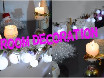 Decorando mi habitación para navidad ♥ DIY -Mariafernandamv