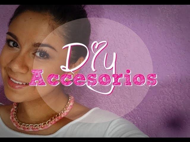 DIY Accesorios Collar