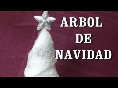 DIY ARBOL NAVIDEÑO DE GUATA
