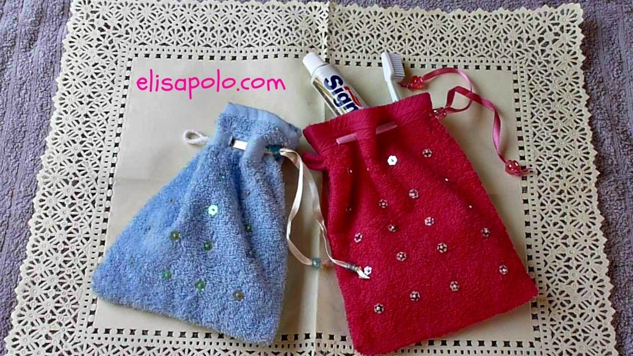 DIY, Bolsa de Aseo, Neceser (Pyjama Party)