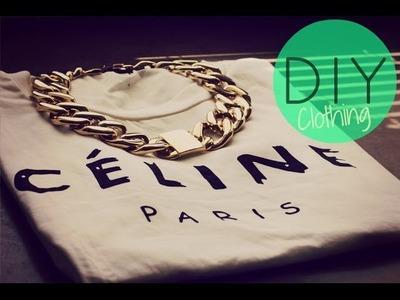 DIY  Clothing CÉLINE París