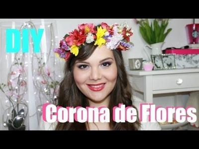 DIY:Corona de Flores | Raisa Falcão