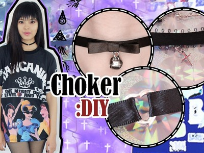 DIY: Gargantillas | Choker Necklace
