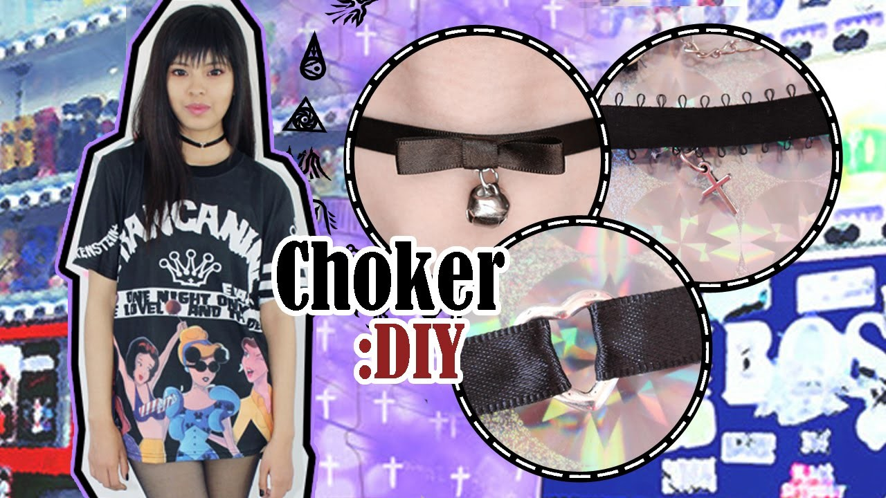 DIY: Gargantillas | Choker Necklace