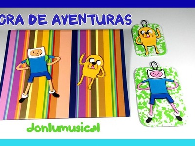 DIY Hora de Aventura Jake y Finn Manualidades Adventure Time.