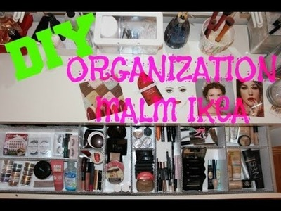 DIY: Organizador de cajón para el tocador Malm de Ikea