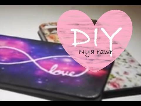 DIY ♥ Personaliza las carátulas de tu celular ♥ PARTE 1