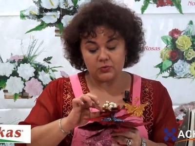 Flores Navidad de Foamy Moldes de Flores para hacer Arreglos Florales en Fomi, Goma EVA HD