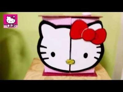 Hello kitty Organizador de cartón