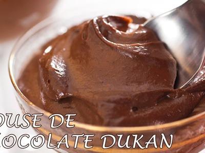 Mousse de Chocolate Dukan - Dukan Chocolate Mousse - Receta Fase Crucero