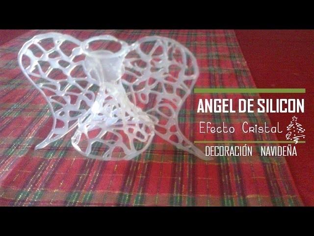 NAVIDAD||Ángeles de Silicón | Efecto cristal | Esferas