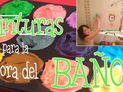 Pinturas para niños: pintura para la bañera