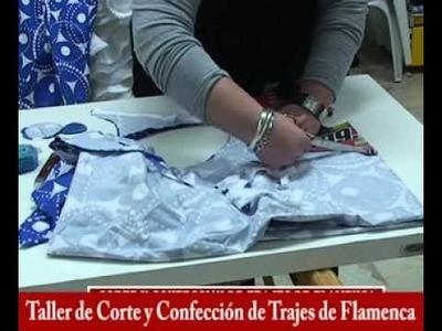 Taller de Corte y Confección de Trajes de Flamenca, Monitora Mª Dolores Ruíz Cárdenas I parte.